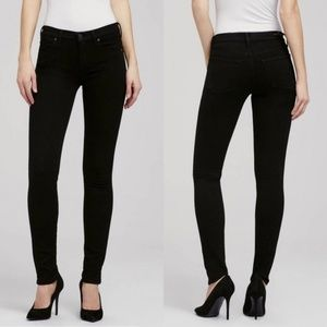 Citizens of Humanity Avedon skinny black jeggings